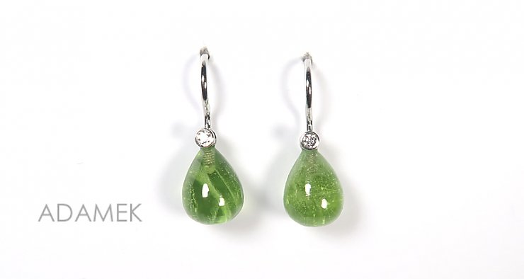 Peridot Pampel 10 x 8mm